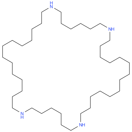 1,8,23,30-Tetraazacyclotetratetracontane