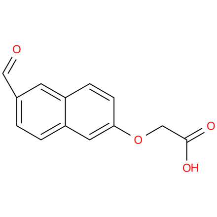 2-(6-Formylnaphthalen-2-yloxy)acetic acid