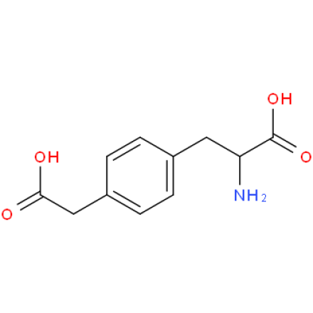 p-Carboxymethyl phenylalanine hydro-chloride