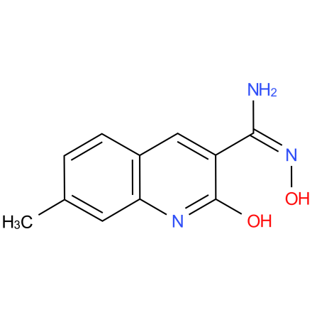 (E)-N',2-dihydroxy-7-methylquinoline-3-carboximidamide