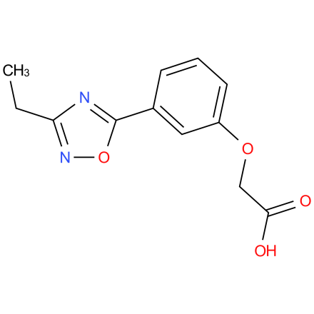 2-(3-(3-ethyl-1,2,4-oxadiazol-5-yl)phenoxy)acetic acid