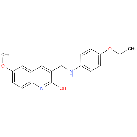 3-(((4-ethoxyphenyl)amino)methyl)-6-methoxyquinolin-2-ol