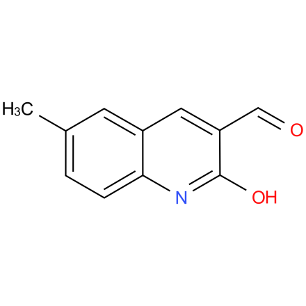 2-hydroxy-6-methylquinoline-3-carbaldehyde