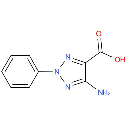 5-amino-2-phenyl-2H-1,2,3-triazole-4-carboxylic acid
