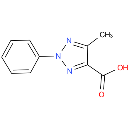 5-methyl-2-phenyl-2H-1,2,3-triazole-4-carboxylic acid