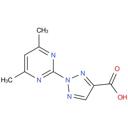 2-(4,6-dimethylpyrimidin-2-yl)-2H-1,2,3-triazole-4-carboxylic acid