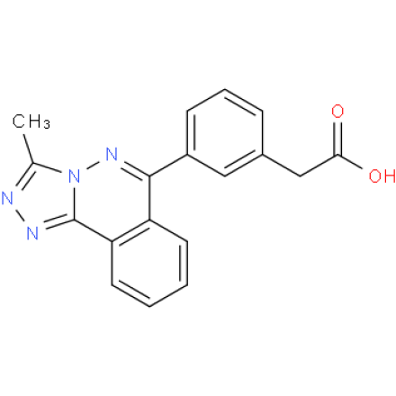 [3-(3-methyl[1,2,4]triazolo[3,4-a]phthalazin-6-yl)phenyl]acetic acid