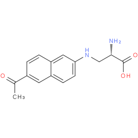 L-3-(6-acetylnaphthalen-2-ylamino)-2-aminopropionic acid trifluoroacetic salt